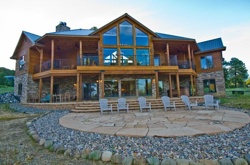 Exceptional Luxury Home over 6500 sq.ft. on 9 acres - Exceptional Luxury Home over 6,500 sq.ft. -9 acres - Pagosa Springs - rentals