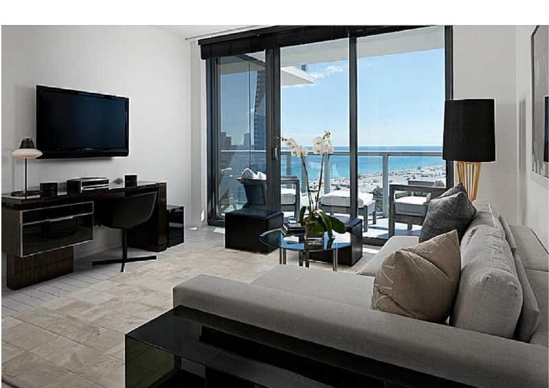 W South beach 1 bdrm ocean view with balcony - Image 1 - Miami Beach - rentals