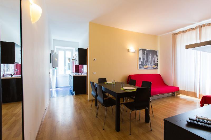 Living Room G - Extra Large Apartment in Vatican Area-Vaticano F+G - Rome - rentals