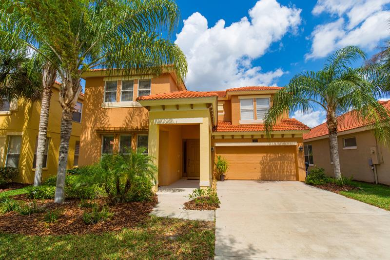 Front of Home - Watersong 4 Bed 5.5 Bath Pool Home (120-WATER) - Orlando - rentals