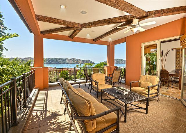 Spacious Balcony with Great Ocean View. - Style & Grace Await in this Spectacular Place a Paradise Penthouse! - Herradura - rentals