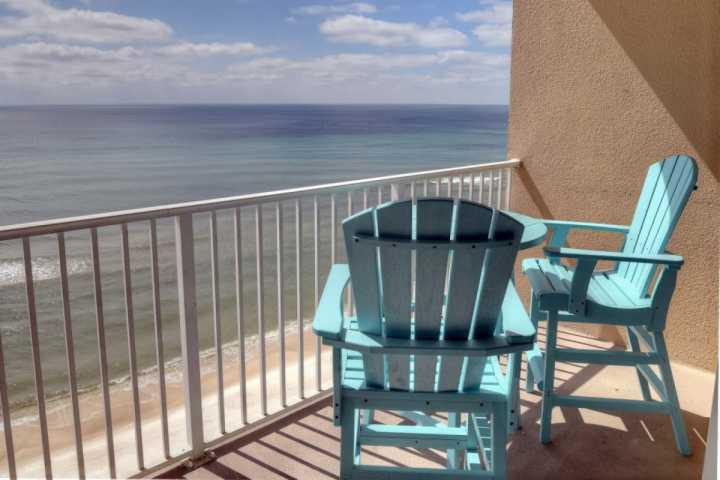 The perfect place to sit, unwind and enjoy the Beautiful Gulf of Mexico - 808 Tidewater Beach Resort - Panama City Beach - rentals