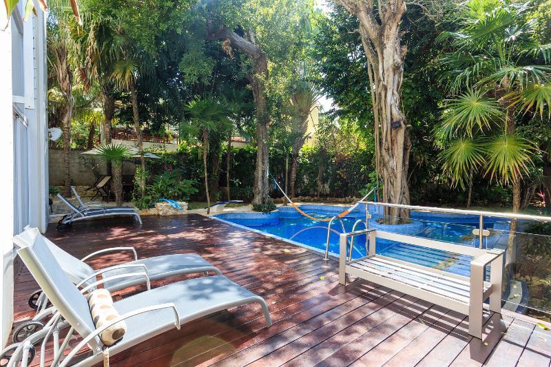 The Pool - Casa Los Charcos Luxury Villa - Playa del Carmen - rentals