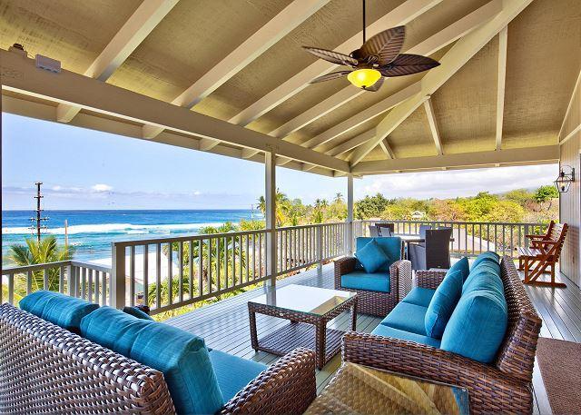 Fantastic Lanai with Amazing Ocean Views - Kahalu'u Ali'i - Kailua-Kona - rentals