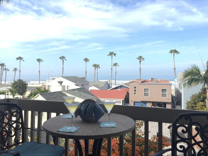 Balcony View from Living Room - Deluxe Ocean View Condo - Oceanside - rentals