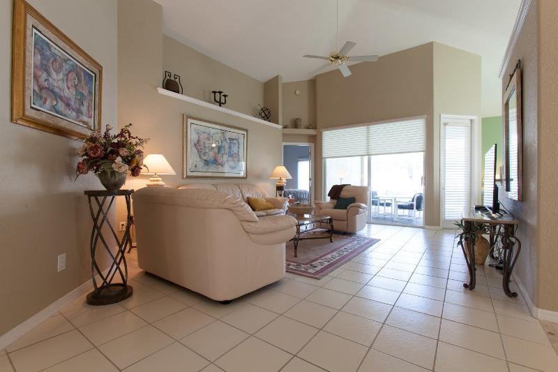 Living Room - Blissful Haven - Bonita Springs - rentals