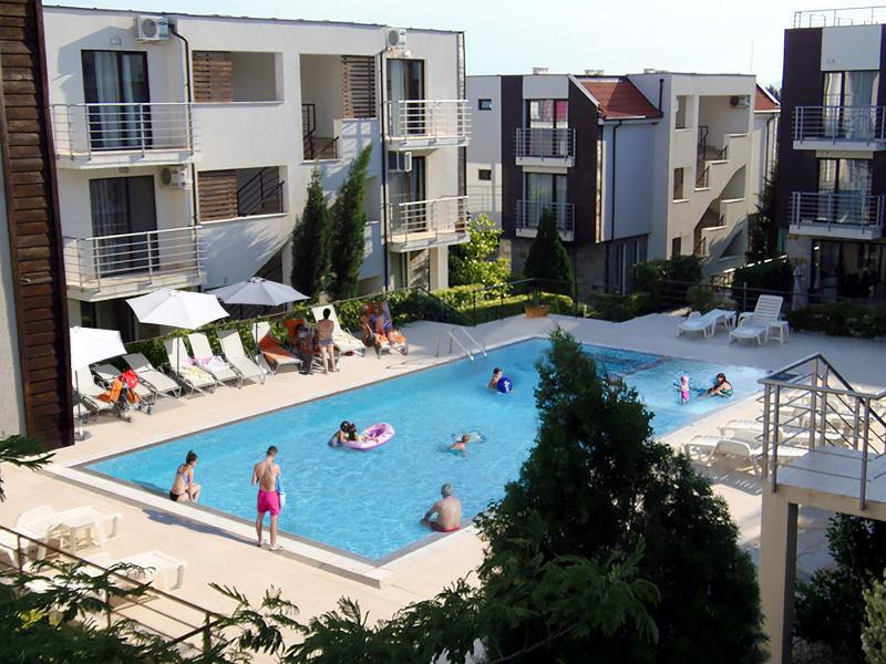 Sea View Apartment in New Line Village complex - Image 1 - Sunny Beach - rentals