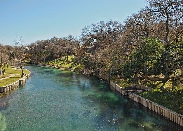 Comal River - Waterfront Condo on the Comal River. - New Braunfels - rentals