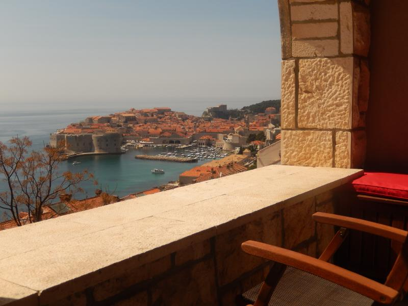 view from the balcony - ELENA SUITE - Dubrovnik - rentals