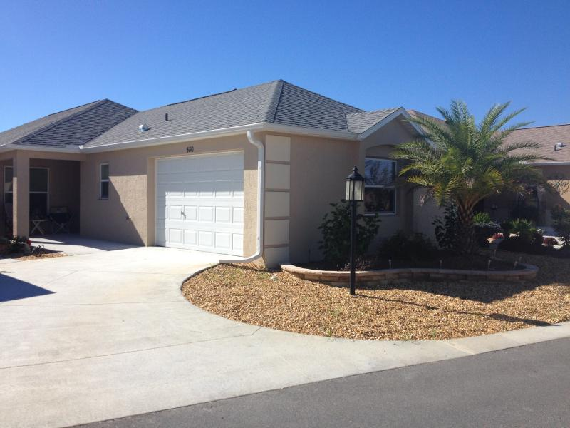 "Front View - ""New"" Courtyard Villa with Golf Cart! - The Villages - rentals"