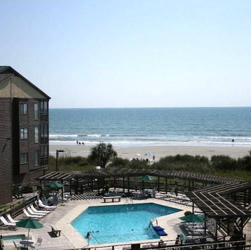 View of Beach and Pool - Furnished 3 Bedroom Condo for rent - North Myrtle Beach - rentals