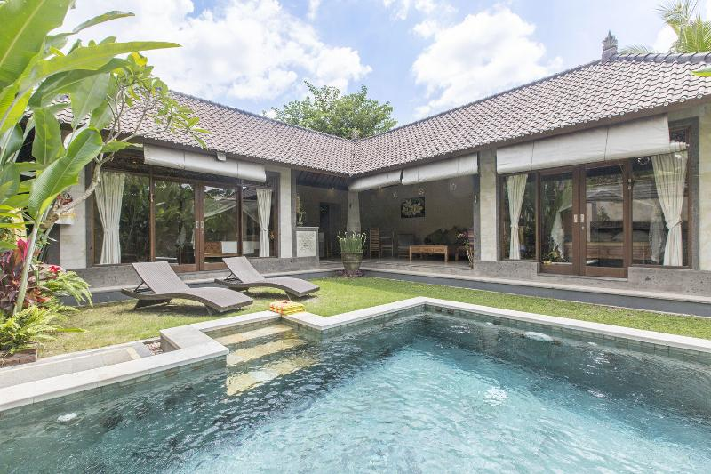 A delightful swim is only a few steps away from your room. - Fabulous New Villa/Tranquil/Excellent Location - Ubud - rentals