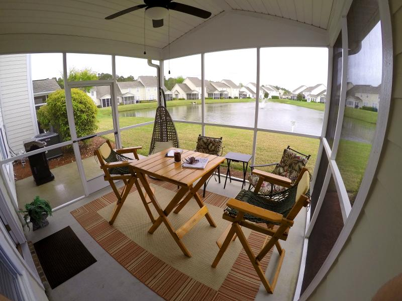 Relax and enjoy your morning cup of coffee or unwind after your day at the beach - Barefoot Resort Great Rates!STAY at the BEST! - North Myrtle Beach - rentals