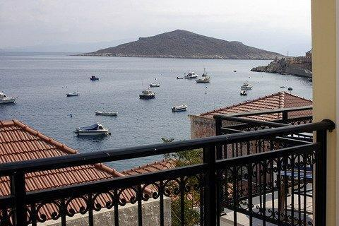 View from the balcony - Michelangelo sea view Twin Maisonettes - Halki - rentals