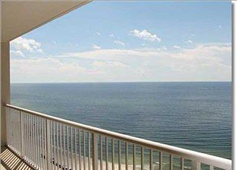 View from Balcony - Majestic Ocean Front Unit - Panama City Beach - rentals