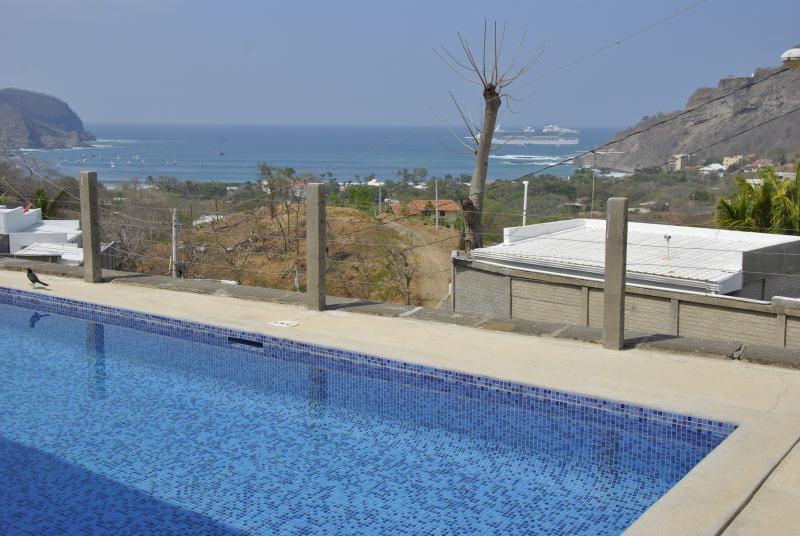 Vista de la Bahia, desde la terraza - Beach House in San Juan del Sur - San Juan del Sur - rentals