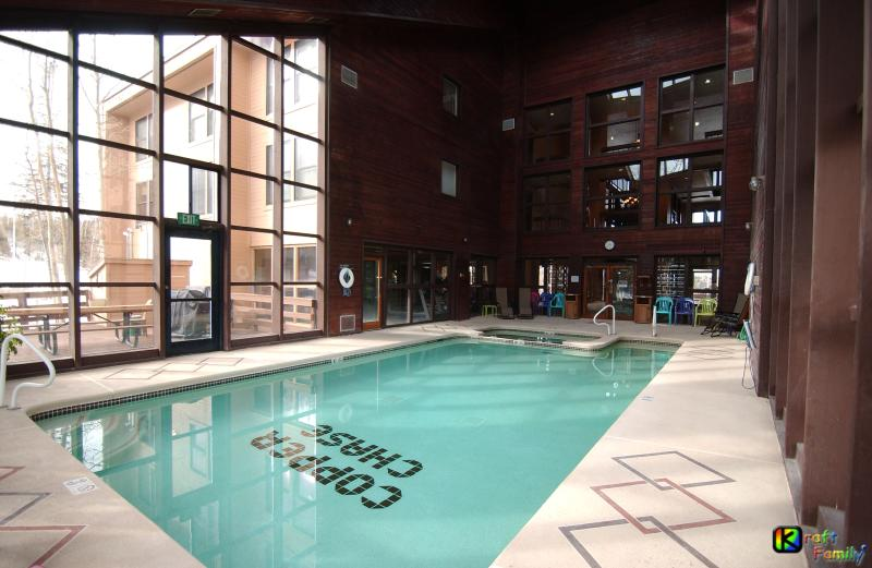 Large pool/Jacuzzi area adjacent to fitness center, separate male/female saunas. - Brian Head Royal Queen Suite Pool ski-i/o Sleep 14 - Brian Head - rentals