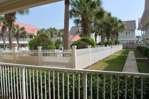 The view from your private patio - The Charm of Seagrove - Beautiful 2 Bedroom 2 Bath - Santa Rosa Beach - rentals