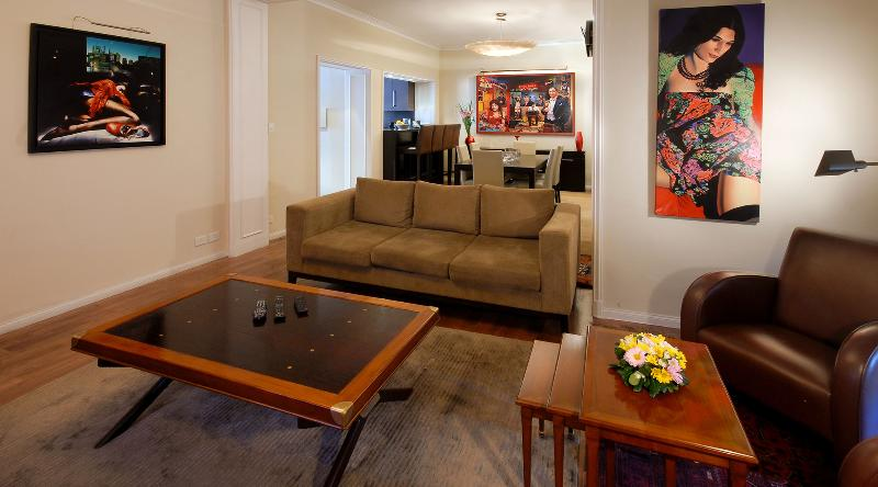 living - ONE OF A KIND ART APARTMENT 2 BEDROOM/ 2.5 BATH -  (JR7) - EXCELLENT LOCATION! - Buenos Aires - rentals