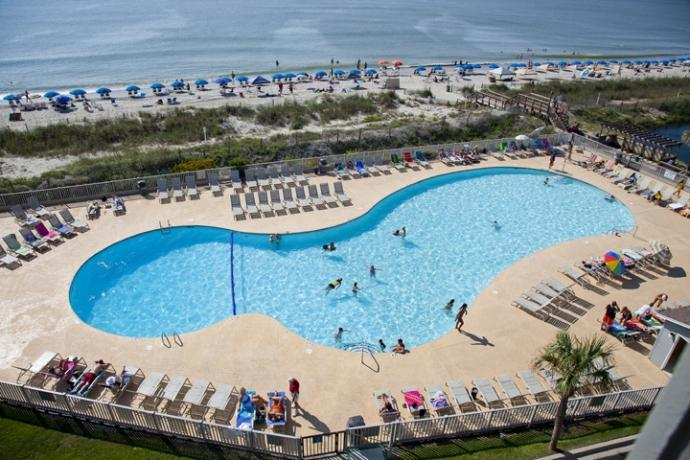 Oceanfront Pool - Awesome Ocean Views  - Spectacular Sunrises - Myrtle Beach - rentals