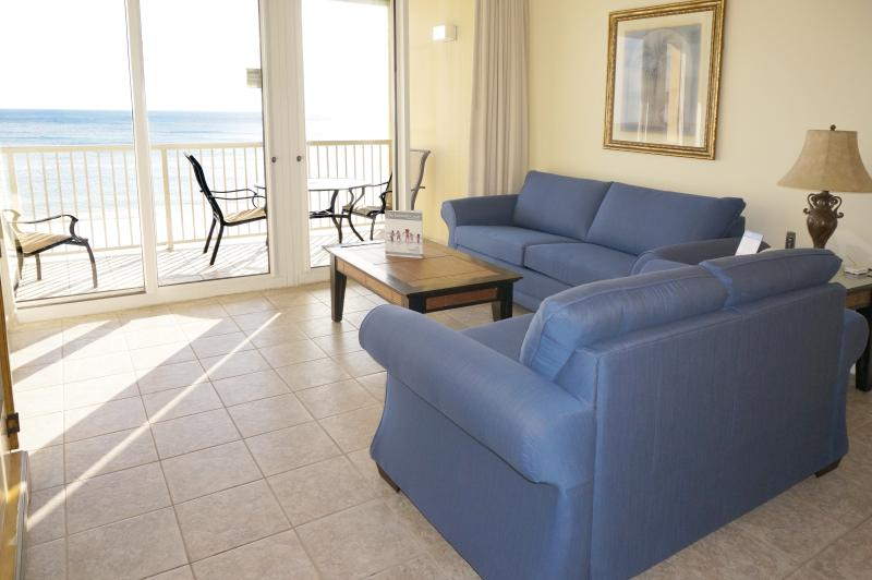 Great Beach view from the condo - Beach Front 3 Bedroom - Fort Walton Beach - rentals