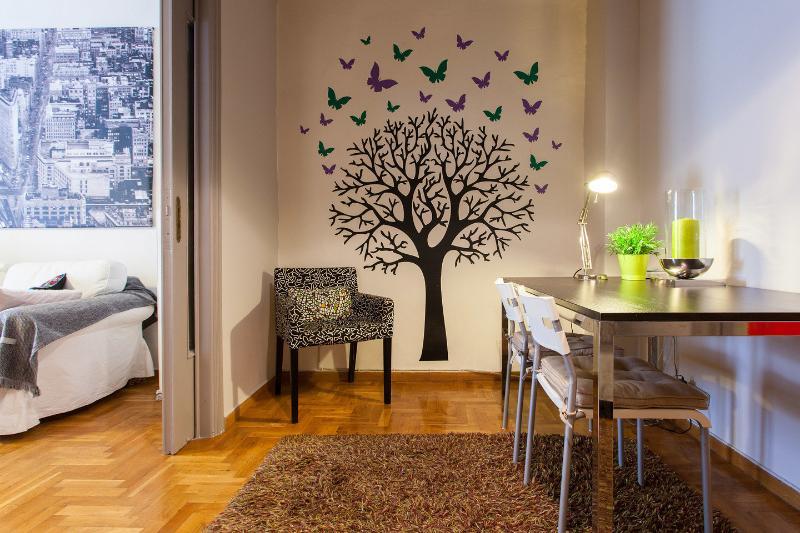 Living Room - Kolonaki Central Cosmopolitan area.1BD near metro - Athens - rentals