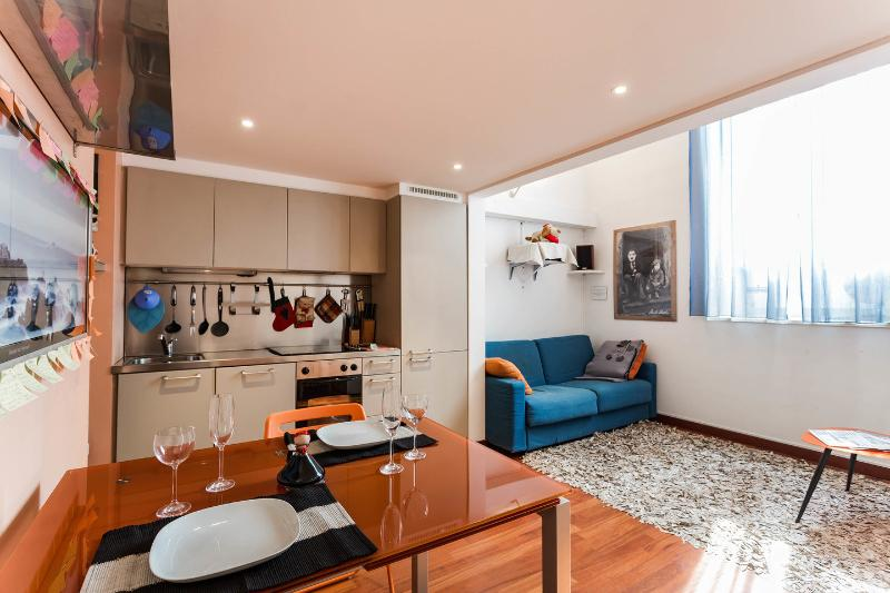 Dining Room - Luxury Loft in Milano-WiFi free - Fashion Flat - Milan - rentals