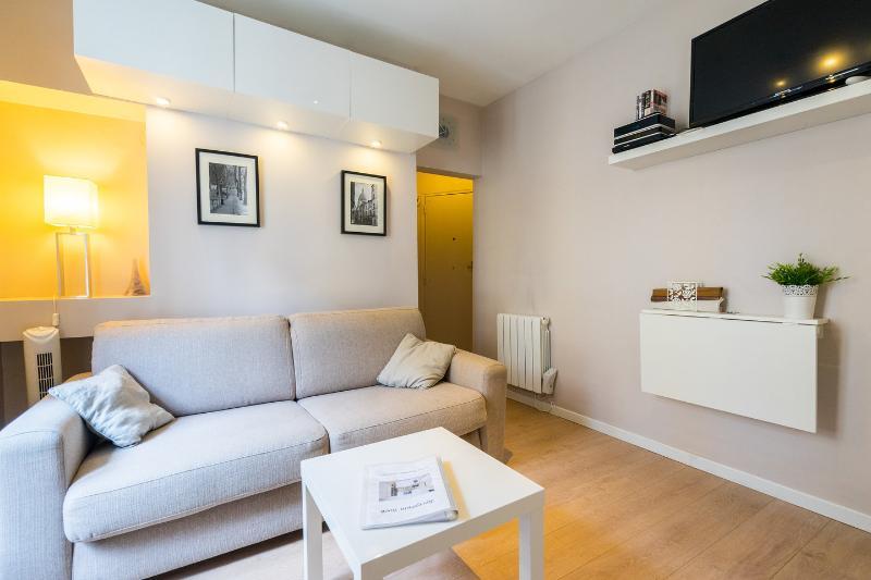 Living Room - Charming studio Montmartre - Paris - rentals