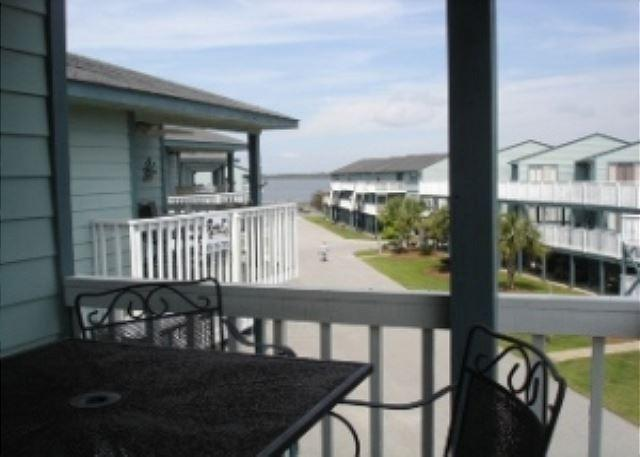 Looking at the intracoastal from the balcony - Bring your boat when you come to Orange Beach - Orange Beach - rentals