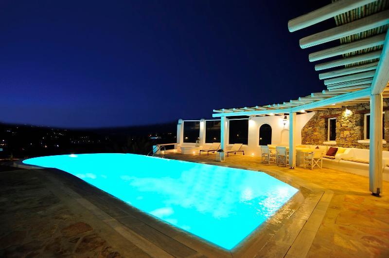 Pool area - Blue Villas   Angerona   Close To Town - Ornos - rentals