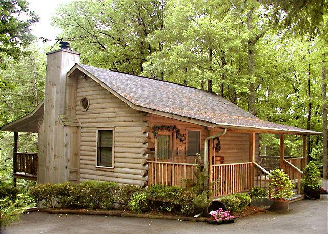 A classic log cabin with modern-day amenities - Dove's Nest   Private Mtn View  Hot Tub  WiFi  Jetted Tub  Free Nights - Gatlinburg - rentals