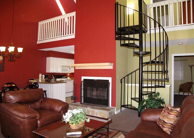 Gorgeous Setting - Gatlinburg Village 406    Wood Fireplace  Shopping  Pool   Free Nights Wi-Fi - Gatlinburg - rentals