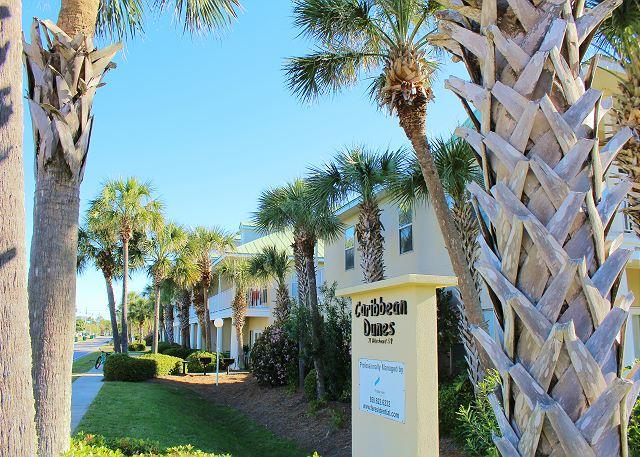 Caribbean Dunes - Caribbean Dunes 122, this condo is just across the street from the Beach! - Destin - rentals