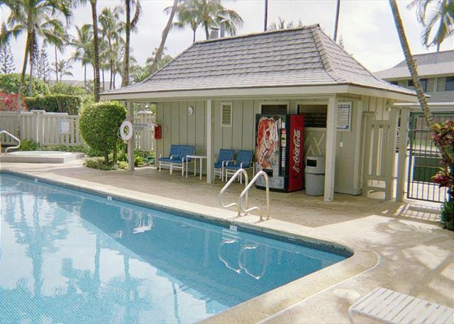 "Pool - Ali'i Kai 12D, Breathtaking Sunsets, ""Bali Hai"" Mountain, 10% off SEP STAYS! - Princeville - rentals"
