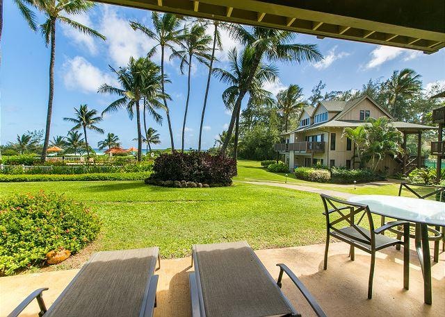 This unit is conveniently located near the pool and walking distance to the beautiful white sandy beach just steps from the Kaha Lani Resort. - Kaha Lani Resort #107, Ocean View, Steps to Beach, Free Wifi & Parking - Lihue - rentals