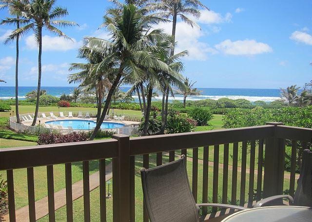 Ocean view - Kaha Lani Resort #206, Ocean View, Steps to the Beach, Free Wifi & Parking - Lihue - rentals