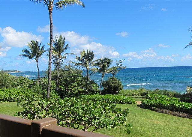 Lanai View - Kaha Lani Resort #224, Ocean Front, Steps to the Beach, Free Wifi & Parking - Lihue - rentals