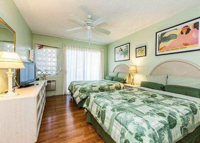 Bedroom - Plantation Hale G7, Near shops, restaurants and beaches.  Air conditioned! - Kapaa - rentals