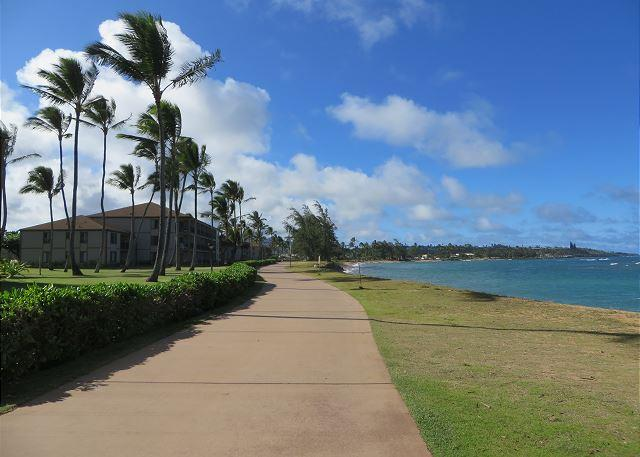 Pono Kai Resort A305, Oceanfront, Walk to Town, Steps to Sandy Beach - Image 1 - Kapaa - rentals