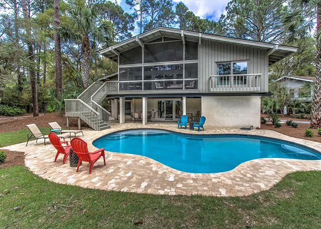 Exterior - 12 Greenwing Teal - Oceanviews - Hilton Head - rentals