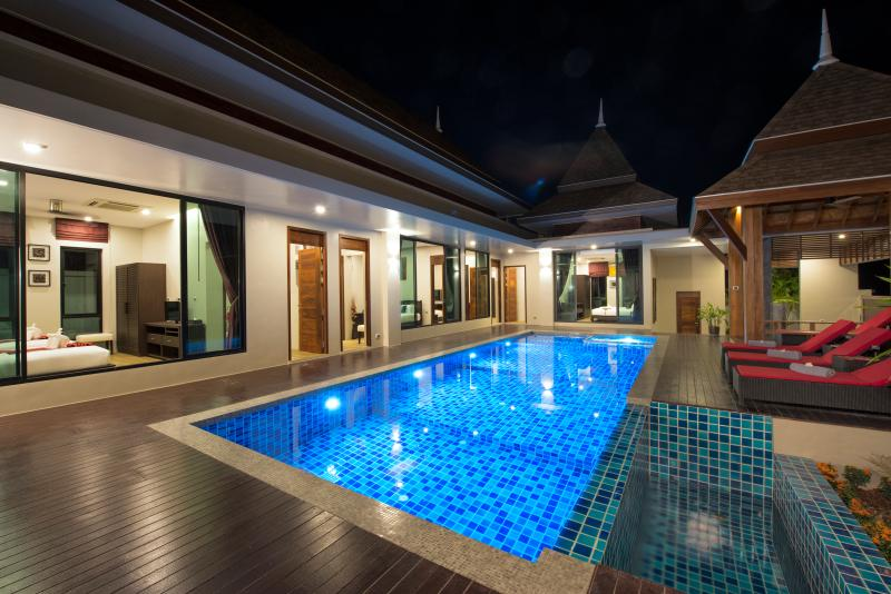 Pool view - all rooms have pool access - Narintara Villa 4 Bedroom Pool Villa (Villa 5) - Ao Nang - rentals