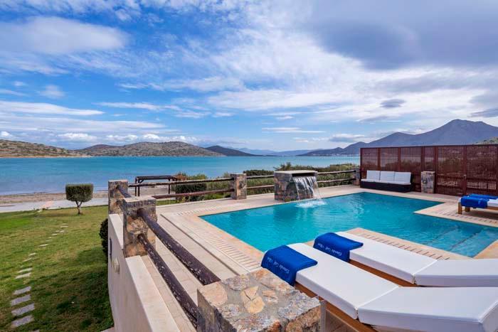 Villa Elounda Sea Front - Image 1 - Elounda - rentals