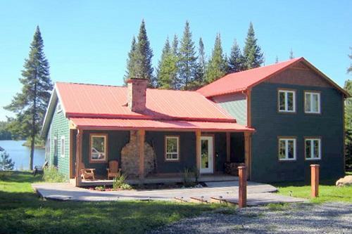 Front Deck - Balsam Cottage - Schefferville - rentals