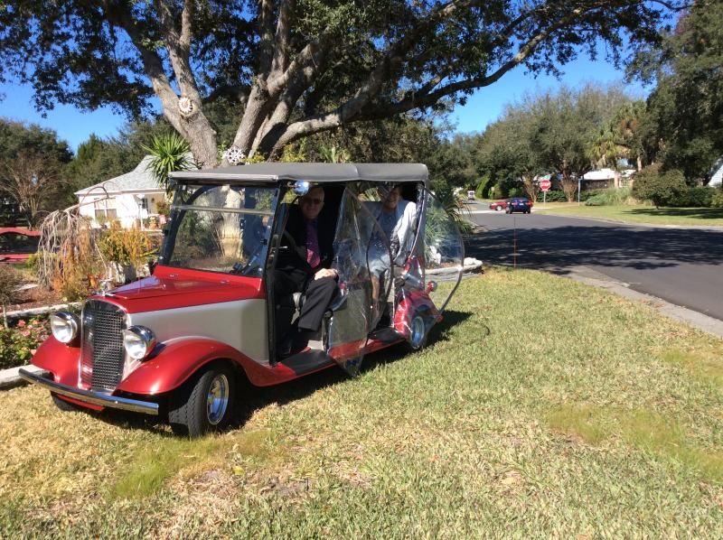 522 ALCAZAR TOURING CART DRIVER INCLUDED! 