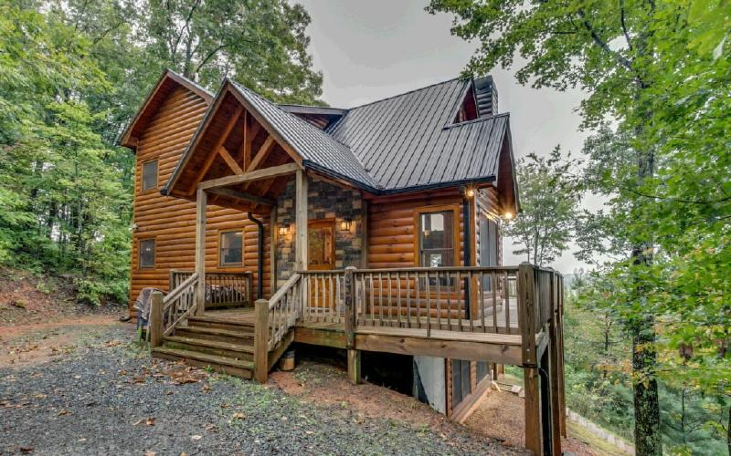 Mountain Dream Cabin - PRIVATE Cabin 3/3 with GREAT Mountain Views! - Cherry Log - rentals