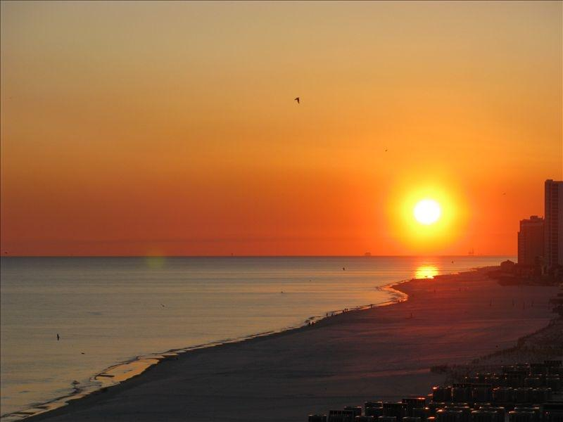 Year-round sunsets from our enormous wrap-around balcony! - Luxury West Corner @ The Lighthouse! - Gulf Shores - rentals