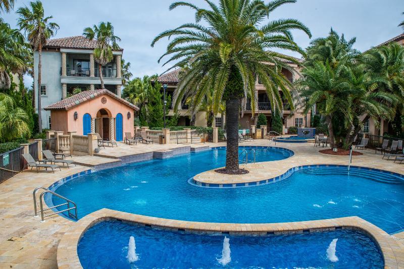 VILLA PARADISO: Custom Tuscan Home, Tropical Resort-Lagoon Pool, Beach Service - Image 1 - Miramar Beach - rentals
