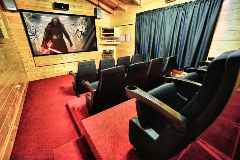 "Theater with 100"" screen! - Bigfoot Lodge - Perfect Location, Big Game Room - Pigeon Forge - rentals"