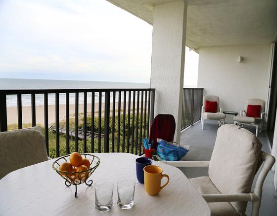 Huge Oceanfront Double Wide Balcony overlooking the beautiful beach - Oceanfront Penthouse Unit With Double Wide Balcony - Cape Canaveral - rentals