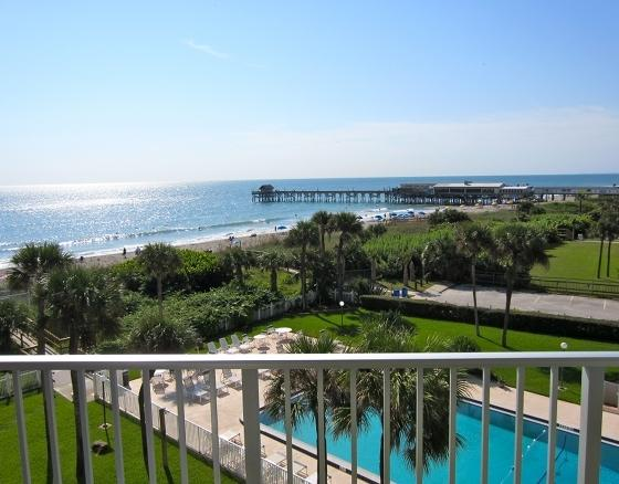 Unbelievable view from your penthouse balcony! - ** Direct Oceanfront PENTHOUSE ** At The Pier - Cocoa Beach - rentals